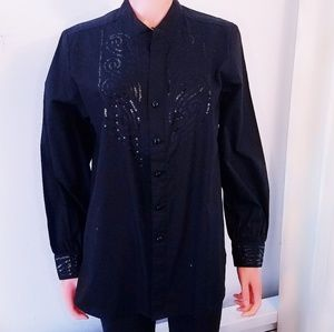 #440 Bob Mackie Wearable Art Embroidered Sequins